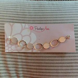 Penelope Ann Gold Bracelet
